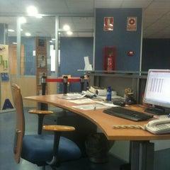 Photo taken at Biblioteca Municipal Vinaros by Marta O. on 6/13/2012