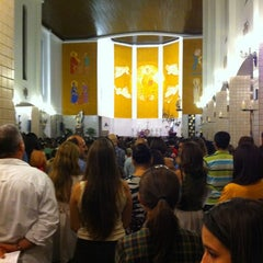 Photo taken at Catedral Santa Teresinha by Fillipe C. on 3/23/2012