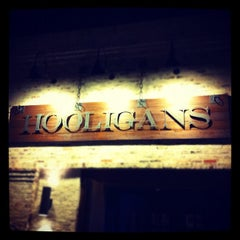 Photo taken at Hooligan's Pub by Kent L. on 4/19/2012