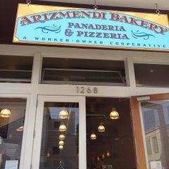 Photo taken at Arizmendi Bakery Panaderia & Pizzeria by Scott M. on 11/13/2011