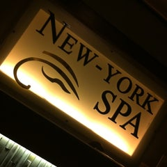 Photo taken at New York Spa by Lexter T. on 9/5/2011