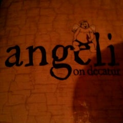 Photo taken at Angeli on Decatur by E T. on 8/17/2011