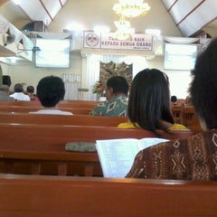 Photo taken at GMIM Getsemani Sario Kota Baru by vero w. on 7/8/2012