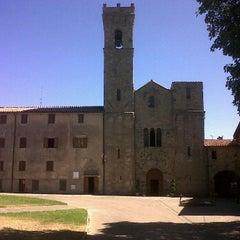 Photo taken at abbazia san salvatore by Francesco G. on 8/27/2012