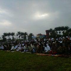 Photo taken at Lapangan Merdeka by Nanang I. on 8/19/2012