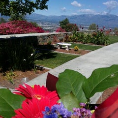 Photo taken at Rose Hills Memorial Park & Mortuary by Melissa H. on 4/1/2012
