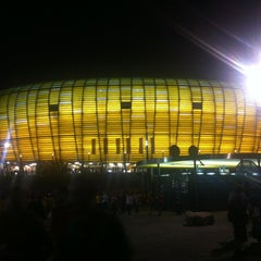 Photo taken at PGE Arena Gdańsk by Lookzo B. on 6/18/2012