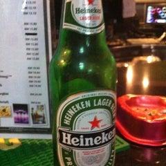 Photo taken at Brewball Pool Club & Bar by Yen A. on 4/28/2012