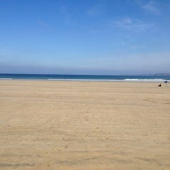 Photo taken at Towan Beach by Clement J. on 3/23/2012