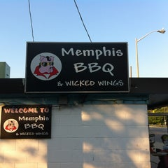 Photo taken at Memphis BBQ by Stafford on 6/20/2012