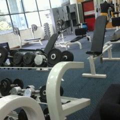 Photo taken at TechnoFlex Gym & Fitness Club by Fadhli H. on 6/21/2012