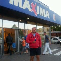 Photo taken at Maxima by Laukuvecis on 8/7/2012