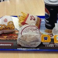 Photo taken at Burger King by Maksim K. on 6/12/2012