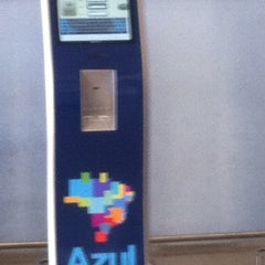Photo taken at Check-in Azul by Jorge T. on 3/8/2012