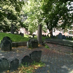 Photo taken at Copp's Hill Burying Ground by Jim Y. on 6/9/2012