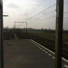 Photo taken at Station Nijmegen Lent by Danny P. on 3/17/2012