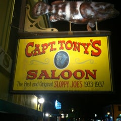 Photo taken at Captain Tony's Saloon by Matthew N. on 5/17/2012