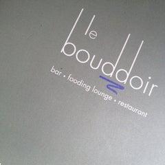 Photo taken at Le Bouddoir by Alain A. on 5/24/2012