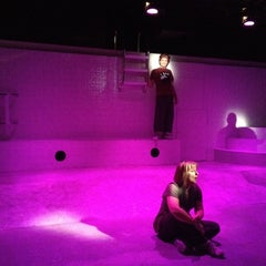 Photo taken at Greenhouse Theater Center by Jill E. on 8/22/2012
