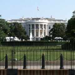 Photo taken at South Lawn - White House by Christina P. on 7/4/2012