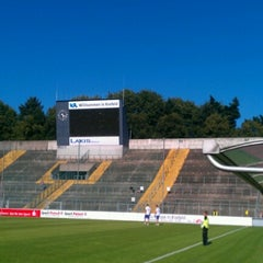 Photo taken at Grotenburg-Stadion by Samla Fotoagentur w. on 8/18/2012