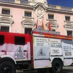 Photo taken at Ayuntamiento de Alcalá de Henares by Jorge G. on 7/19/2012