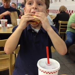 Photo taken at Five Guys by Trent M. on 2/4/2012