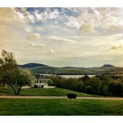 Photo taken at The Lucerne Inn by Danielle D. on 5/24/2012