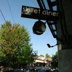 Photo taken at Skillet Diner - Capitol Hill by Caroline M. on 9/2/2012