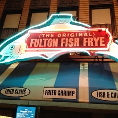 Photo taken at (The Original) Fulton Fish Frye by Ann-Margaret M. on 3/19/2012