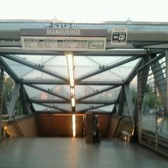 Photo taken at Metro Manquehue by Roberto v. on 11/29/2012