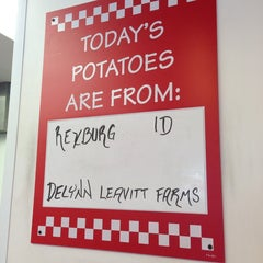 Photo taken at Five Guys by Blake O. on 7/2/2013