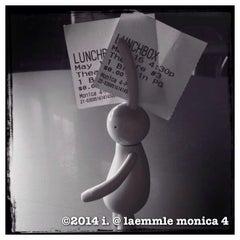Photo taken at Laemmle's Monica Fourplex by 💕i /@yumyum.in.the.tumtum on 5/16/2014