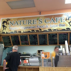 Photo taken at Nature's Health Food & Cafe by Savana on 5/18/2013