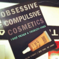 Photo taken at Obsessive Compulsive Cosmetics by Kate T. on 9/19/2012