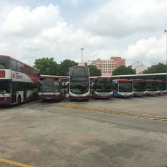Photo taken at Hougang Central Bus Interchange by Hubert D. on 9/21/2013