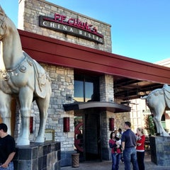 Photo taken at P.F. Chang's by John F. on 11/24/2012