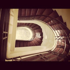 Photo taken at De La Salle - College of Saint Benilde by Rogie B. on 11/5/2012