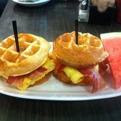 Photo taken at Waffles by Kathya on 8/26/2013