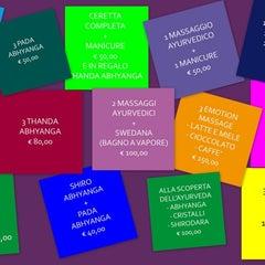 Photo taken at Fior di Loto Ayurveda by FIOR DI LOTO A. on 12/17/2012