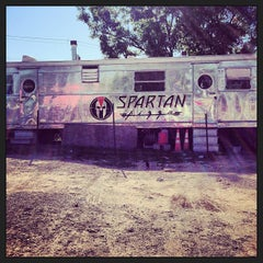 Photo taken at Spartan Pizza by Michael on 4/20/2013