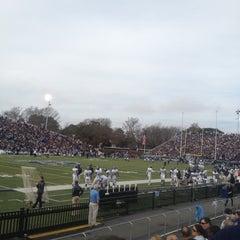Photo taken at Foreman Field at S.B. Ballard Stadium by Candice on 12/8/2012