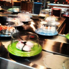 Photo taken at Sushi Sakura by Merrick M. on 5/23/2013