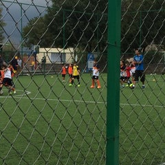 Photo taken at Deportivo Boulevares by Itzel M. on 9/9/2014