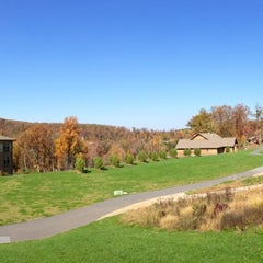 Photo taken at Capital Camps & Retreat Center by Seth on 10/25/2014