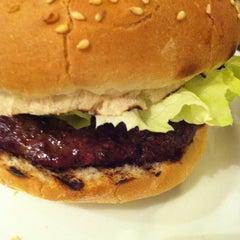 Photo taken at Gourmet Burger Kitchen by OM on 5/29/2013