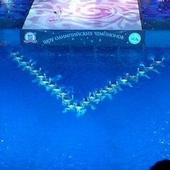 Photo taken at Бассейн «Олимпийский» by Михаил П. on 12/21/2012
