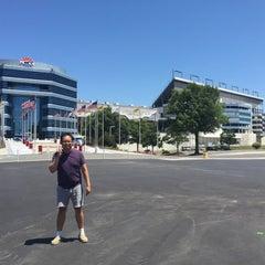 Photo taken at Charlotte Motor Speedway by Dominic Luigi M. on 6/21/2015