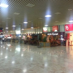 Photo taken at Bahrain International Airport (BAH) | مطار البحرين الدولي by Redha A. on 3/1/2013