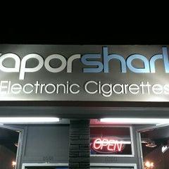 Photo taken at Vapor Shark | Electronic Cigarettes & Premium E-Liquids by William S. on 12/15/2012